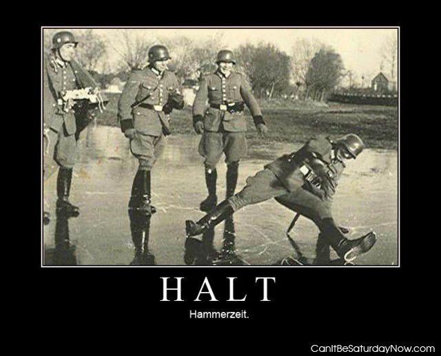 Halt hammerzeit