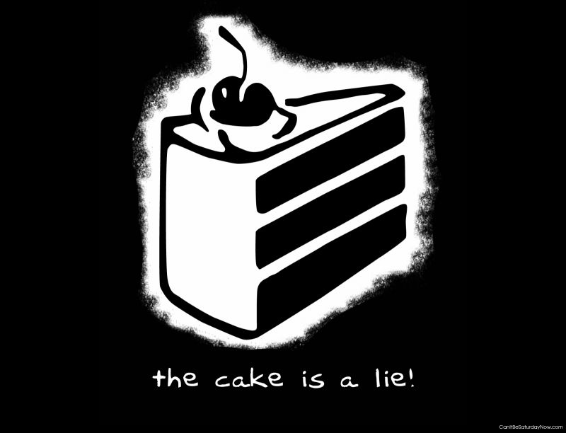 Cake lie