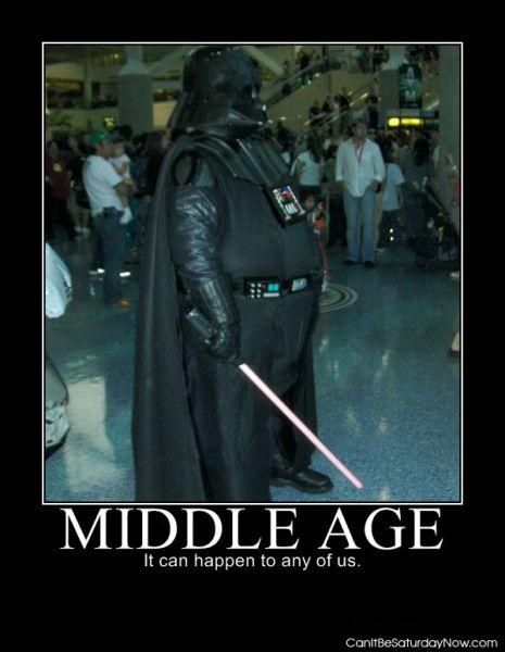 Middle age darth