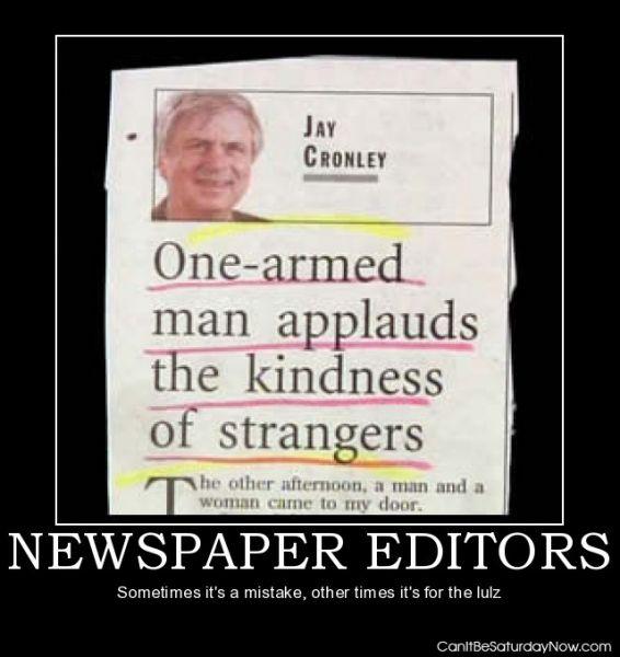 Bad editors