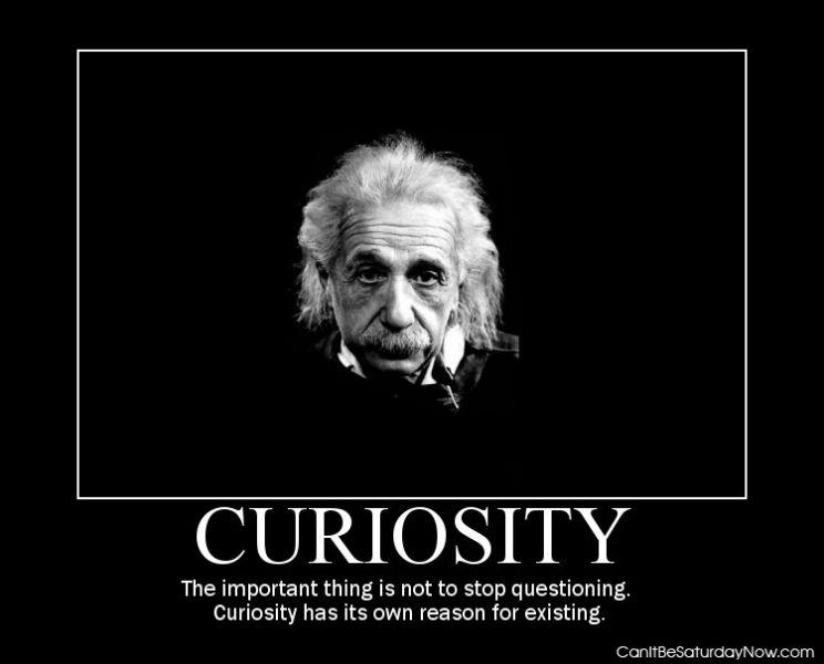 Curiosity man