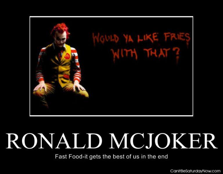 Ronald McJocker
