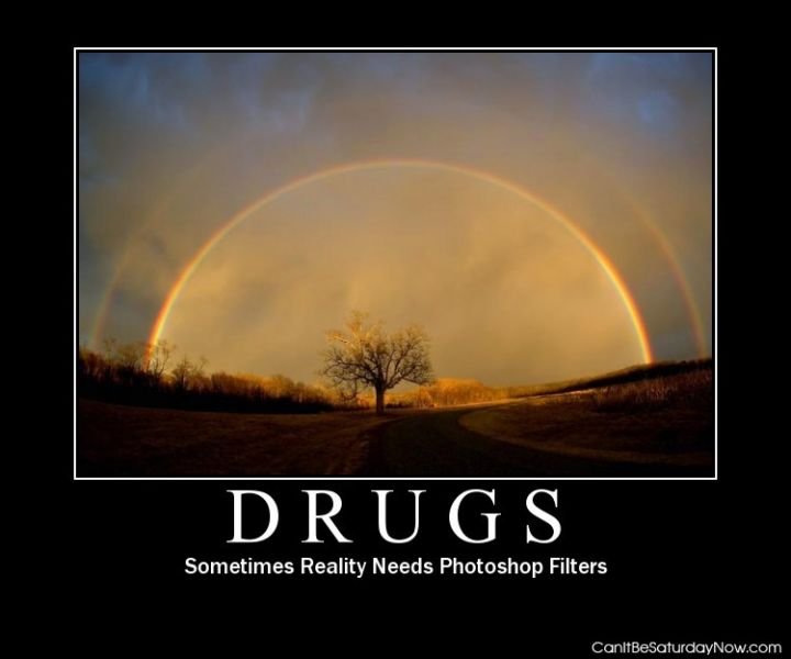 Drugs as filters
