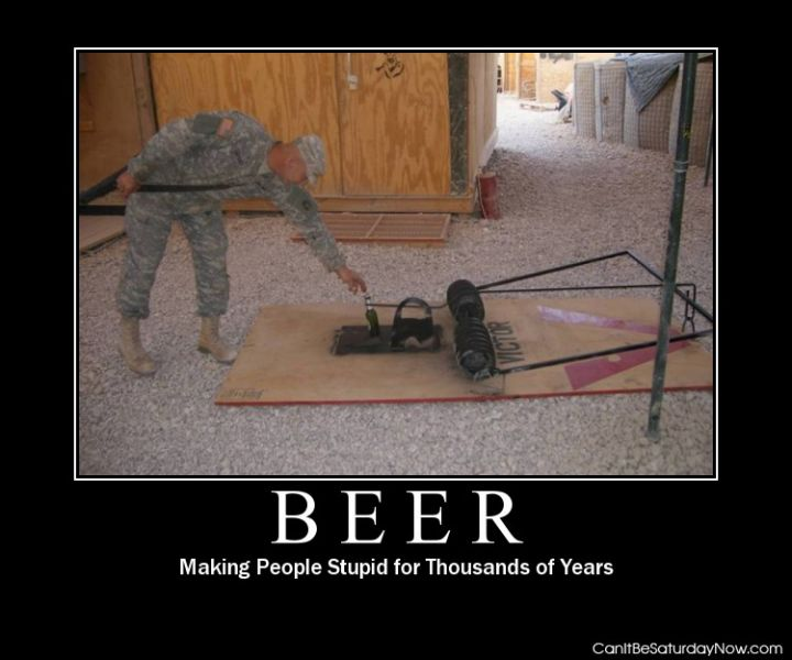 Beer trap