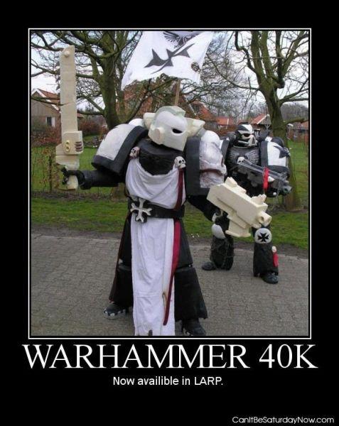Warhammer larp