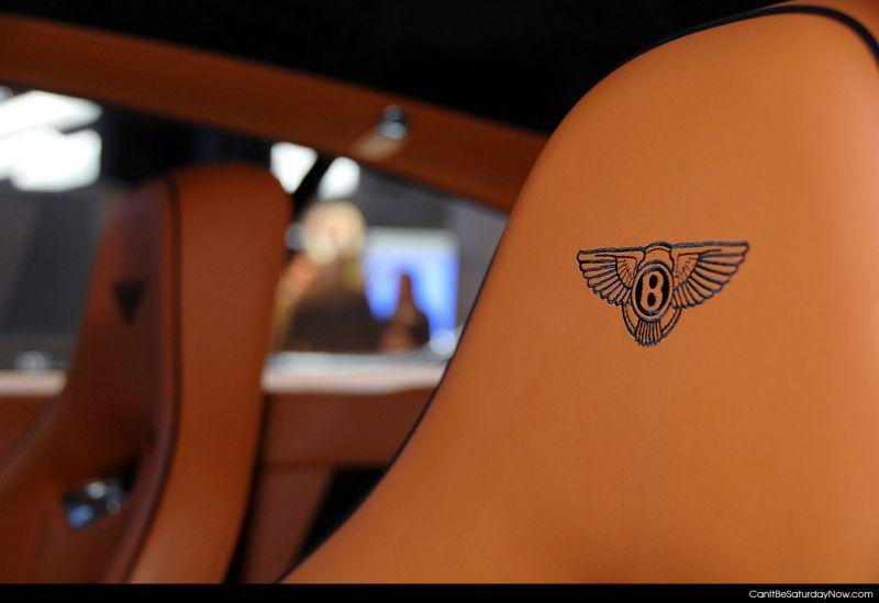 Bentley stitched