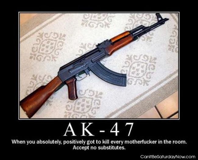 Ak47 answer