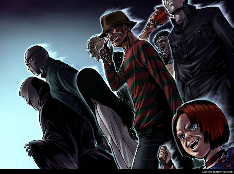 Horror movies people