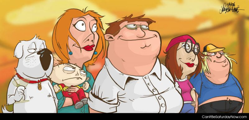 Family guy re done