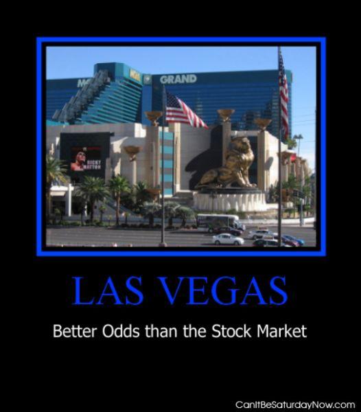 Vegas odds