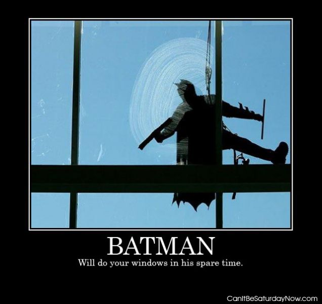 Batman windows
