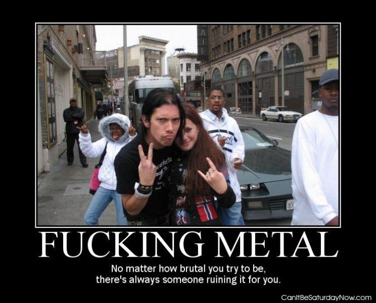 Metal ruin