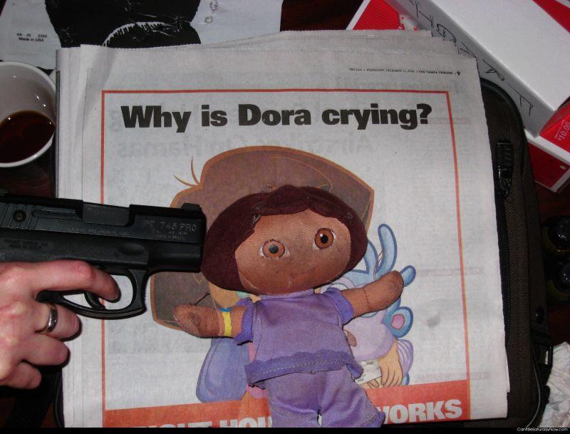 Make Dora Cry
