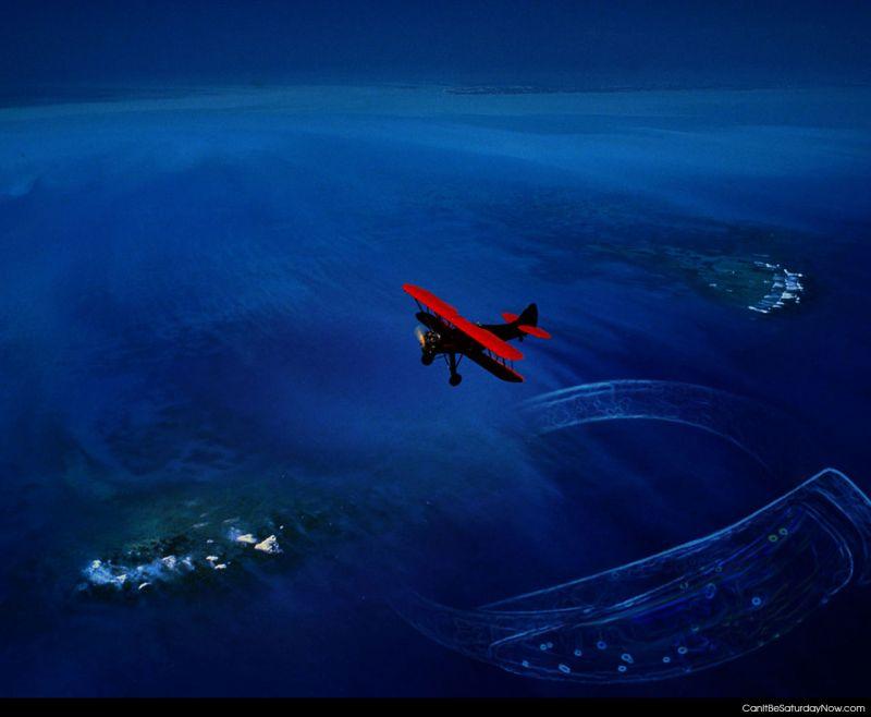 Plane coast