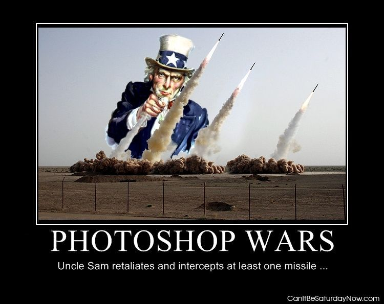Photoshop wars
