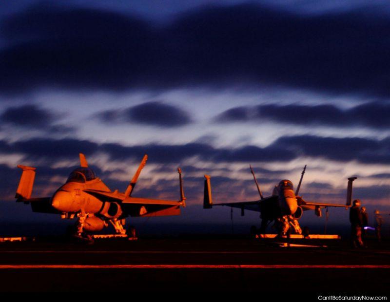 Dawn jets