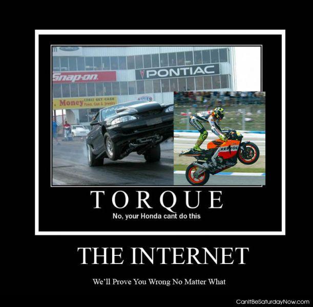 Honda torque