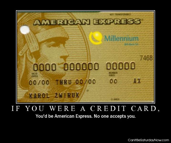 Were credit card