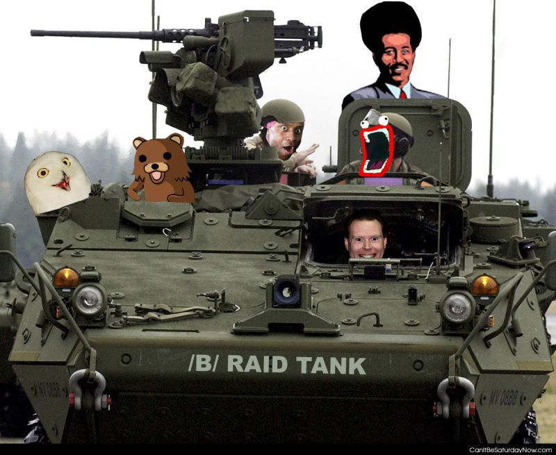Raid tank