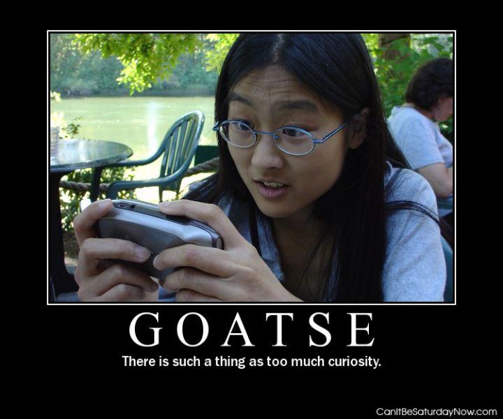 Goatse much