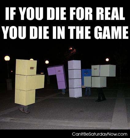 Tetris die