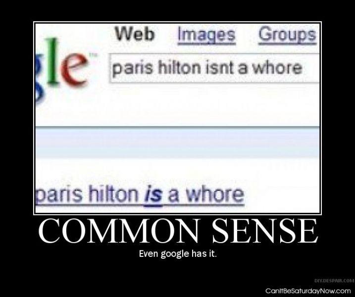 Google sense