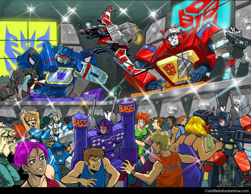 Transformers rave