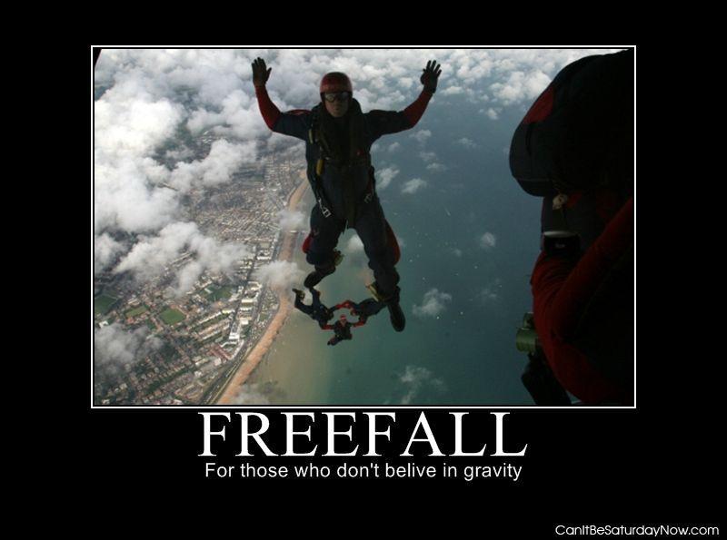 Freefall gravity
