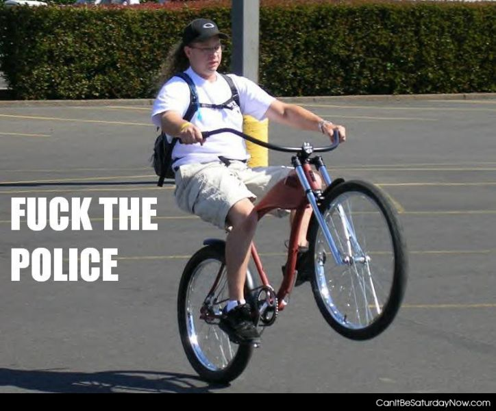 F the police
