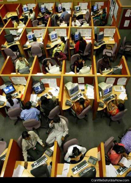 Cramped office