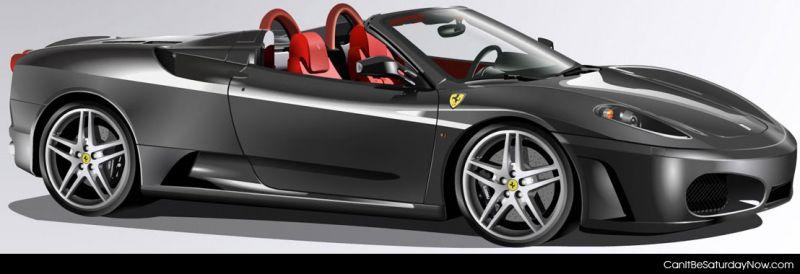 Gray Ferrari