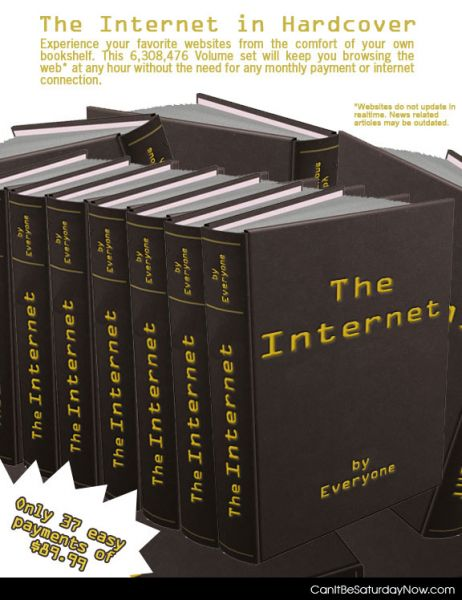 Internet on paper