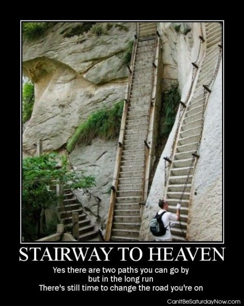 Stairwat to heaven