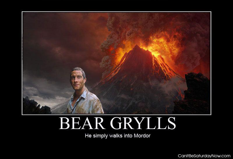 Bear mordor