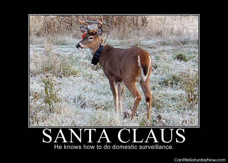 Santa claus cam