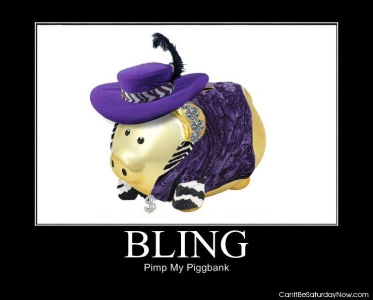 Bling bank