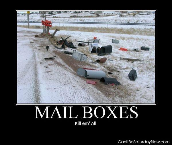 Dead boxes