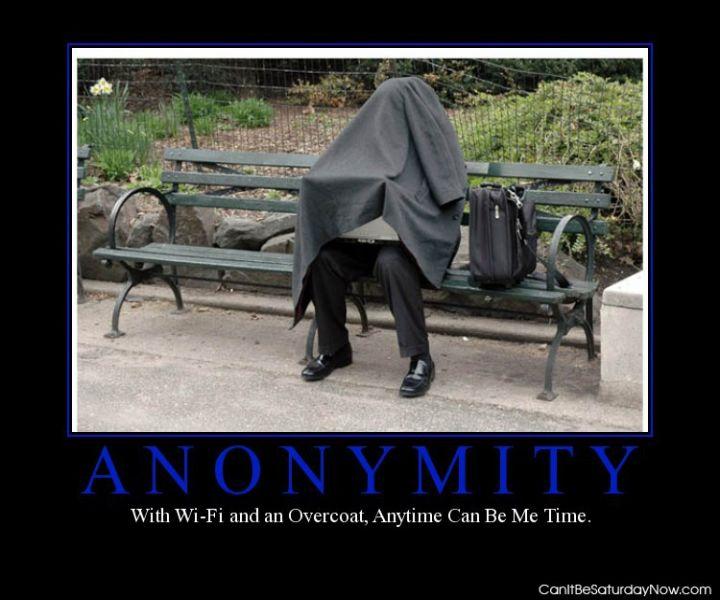 Annonymity