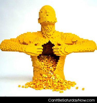 Lego inside