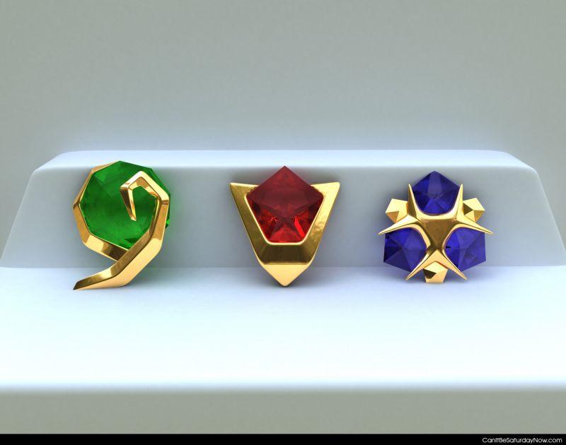 Zelda gems