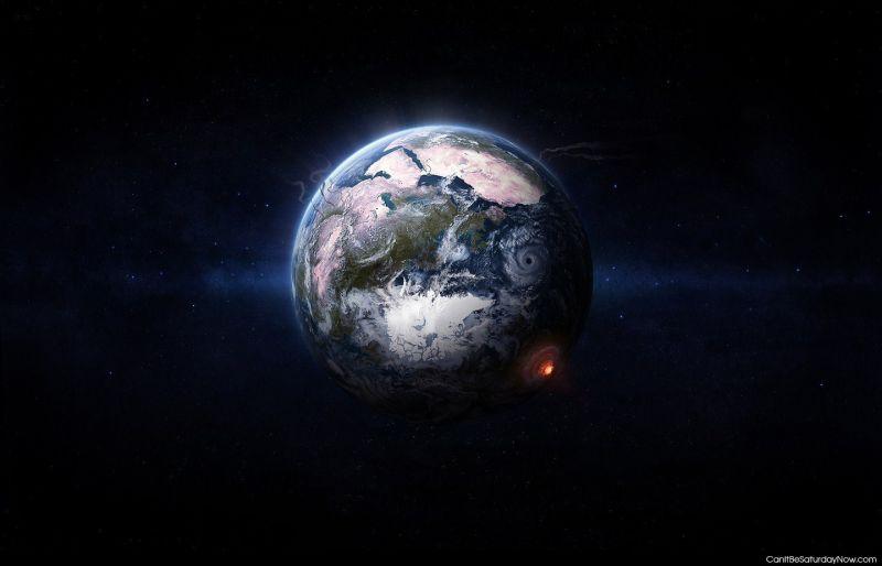 Earth boom