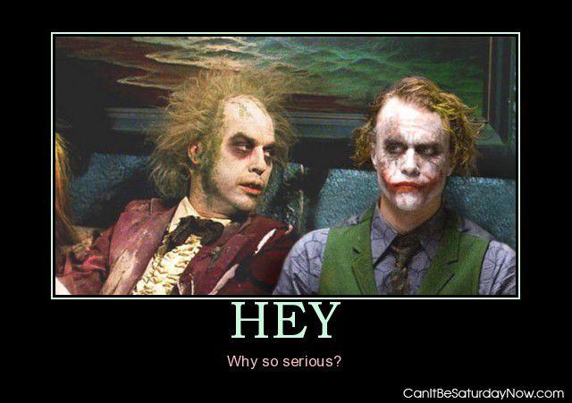 Hey ugly