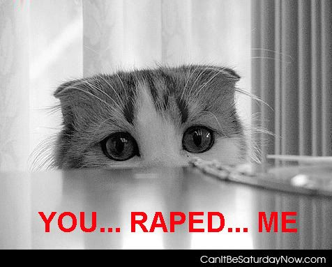 Raped kitty