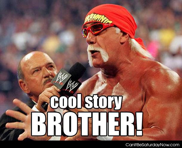 Cool story brother