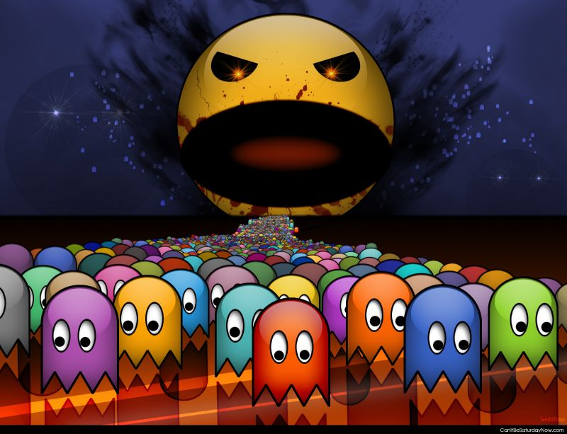 Pac man ghost hell