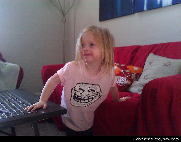 Troll kid