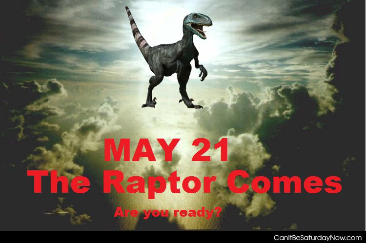 Raptor comes