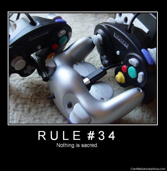 Rule 34 cube