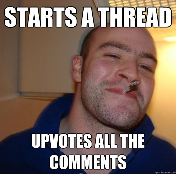 Starts a thread