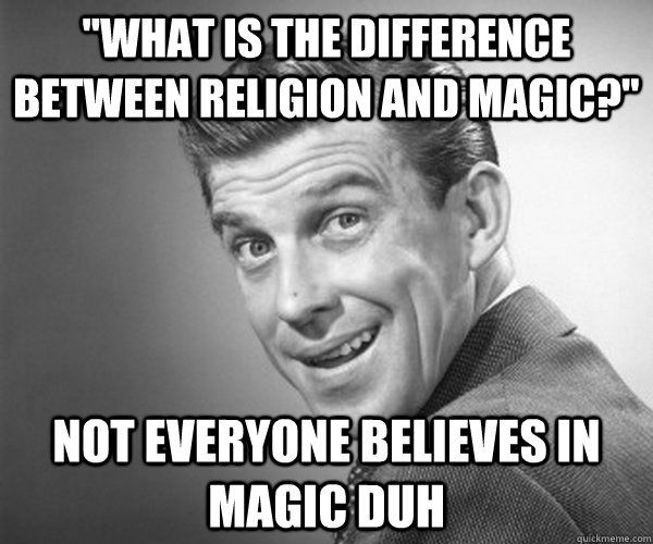 Religion and magic